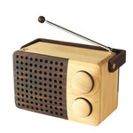 MAGNO wooden radio<br>leseni radio<br>wr01a-2Bipod